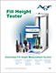 Fill Height Tester (Dispositivo di test per il livello di riempimento) Brochure