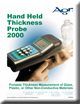 Hand Held Thickness Probe (Sonde de mesure de l'épaisseur portable) Brochure