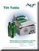 Tilt Table (Table inclinable) Brochure